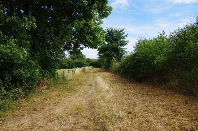Public footpath to Buckland Road, Bampton, Oxon