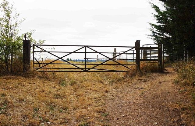 Gates near Bampton, Oxon