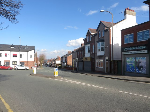 Junction at the end of Magazine Lane, Wallasey