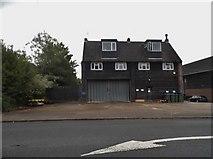 TQ2028 : Blocks at Elite Garage, Mannings Heath by David Howard