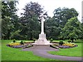 NY9364 : Hexham War Memorial by G Laird