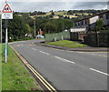 ST1988 : Warning sign - School/Ysgol, Addison Way, Graig-y-rhacca by Jaggery