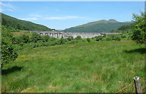 NS0683 : Loch Tarsan dam by Thomas Nugent