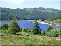 NS0883 : Loch Tarsan by Thomas Nugent