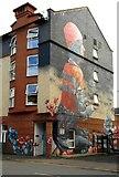 "NS5566 : ""The Model Boat"" Mural, Purdon Street by Richard Sutcliffe"