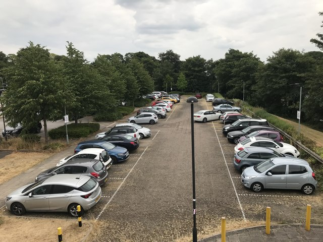 Car park at the Clinical Education Centre