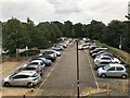 SJ8544 : Car park at the Clinical Education Centre by Jonathan Hutchins