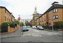 NS5566 : Burgh Hall Street by Richard Sutcliffe