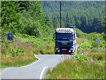 NS0982 : Log Lorry in Glen Lean by Thomas Nugent
