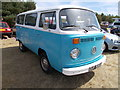 TF1207 : 1972 Volkswagen camper van at the Maxey Classic Car Show, August 2018 by Paul Bryan