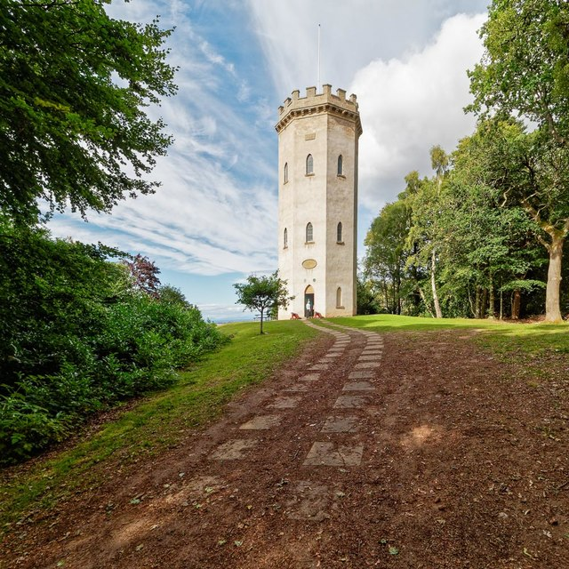 Nelson's Tower Cluny Hill Foress