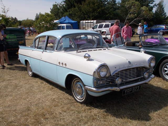 1961 Vauxhall Cresta at the Maxey Classic Car Show, August 2018