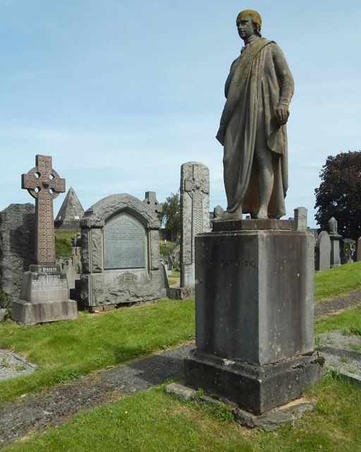 Statue of James Renwick