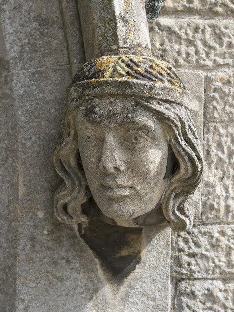 St John, Manthorpe - Label head