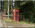 SD9044 : K6 telephone box on Colne Road (A56), Kelbrook by JThomas