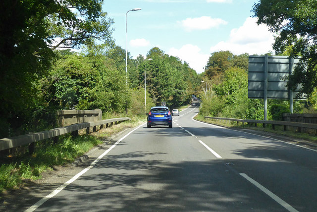 A140 at Stratton Bridge