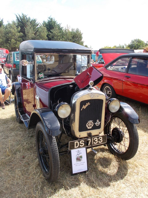 1929 Austin 7 at the Maxey Classic Car Show, August 2018