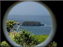 D0644 : Sheep Island viewed through the telescope by Kenneth  Allen