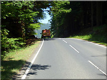NS1381 : The B836 road by Thomas Nugent
