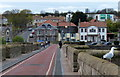 NT9952 : Crossing Berwick Bridge by Mat Fascione