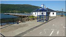 NS1680 : Ardnadam Pier by Thomas Nugent