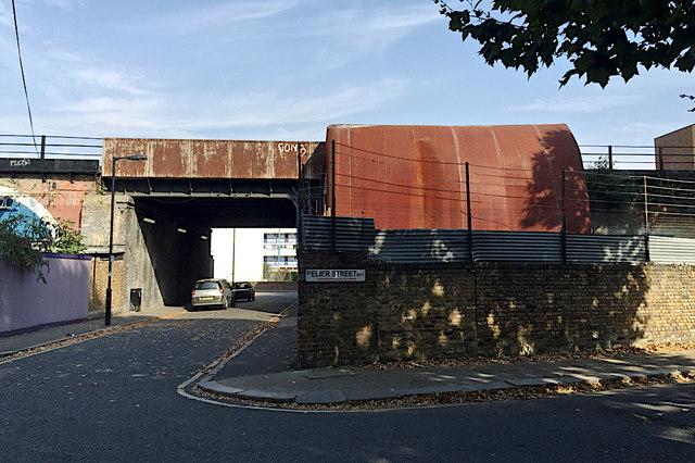 Unusual Modern House Dartford Street C Robin Stott Geograph