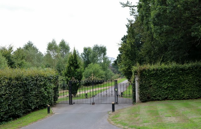 The entrance to Cowdray House, Easebourne