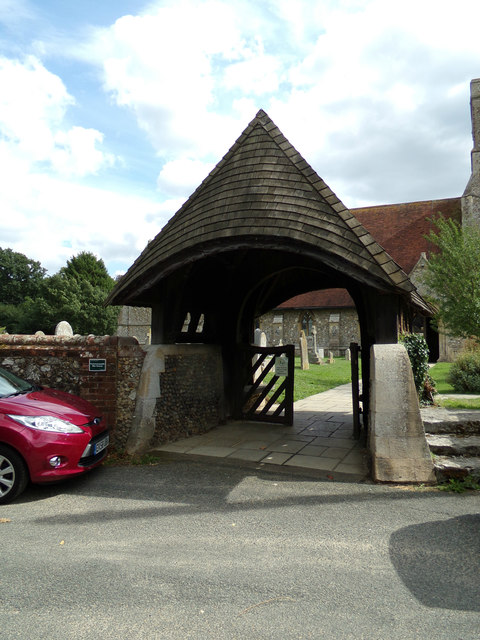 Lych Gate of St.Michael the Archangel Church