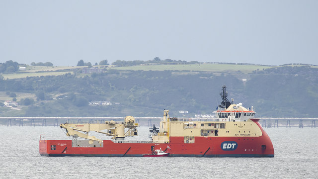 The 'EDT Hercules' off Bangor