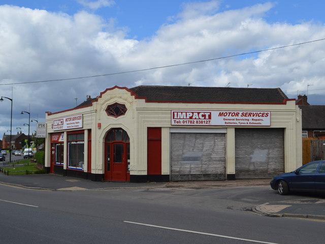 Garage on Newcastle Street
