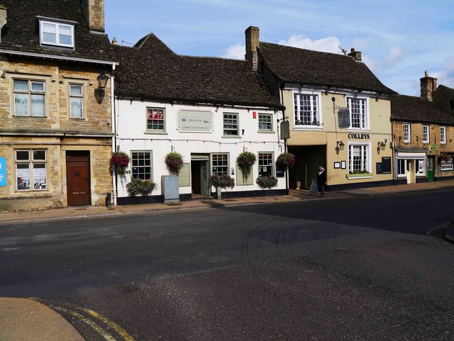 The Crown Inn and Colleys, High Street, Lechlade-on-Thames, Glos