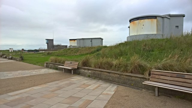 WW1 Searchlight Emplacements, Blyth