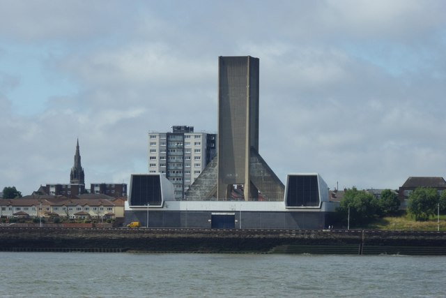Kingsway Tunnel Ventilation tower