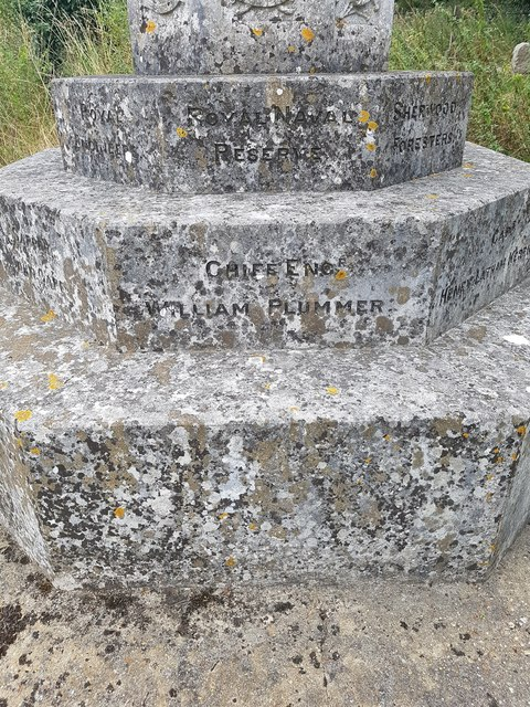 Names of the fallen of the Geldeston war memorial - 5