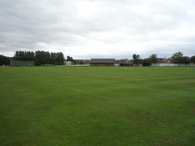 Cricket ground, Castletown