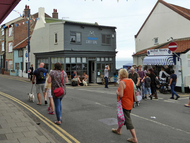 The Grey Seal Coffee Shop Sheringham Robin Webster Cc By