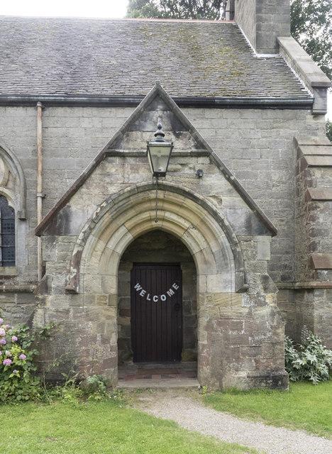 Christ Church, Marton cum Grafton - Porch