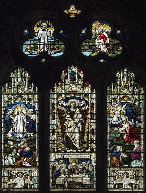 Christ Church, Marton cum Grafton - Stained glass window