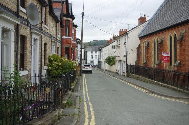Market Street, Llanfyllin