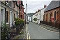 SJ1419 : Market Street, Llanfyllin by Stephen McKay