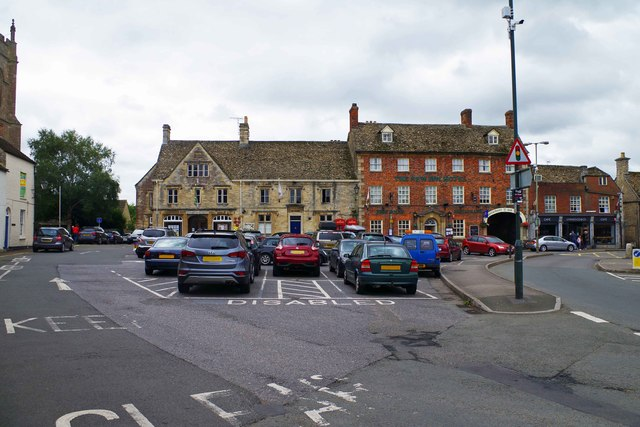 Market Square, Lechlade-on-Thames, Glos