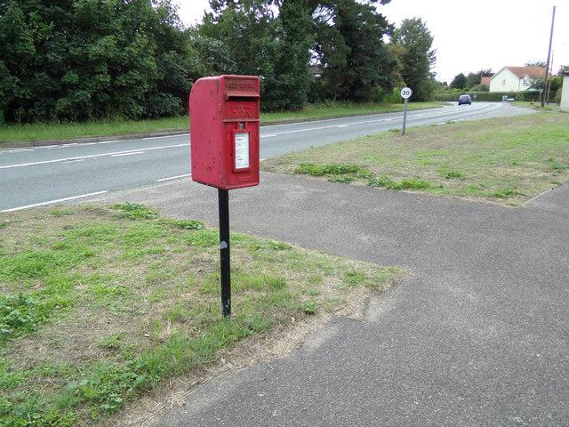 Church Lane Postbox