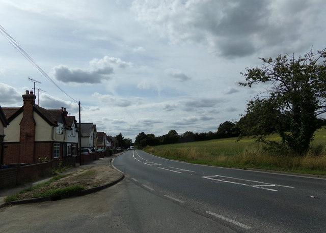 A137 Brantham Hill, Cattawade