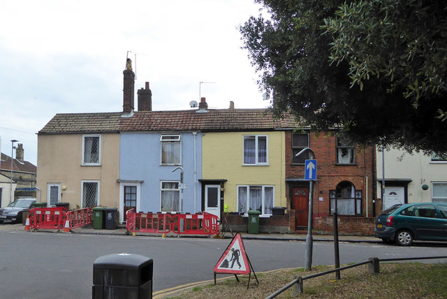 Cottages, Kent Square, Great Yarmouth