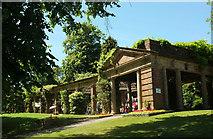 SE2955 : Colonnade, Valley Gardens, Harrogate by Derek Harper