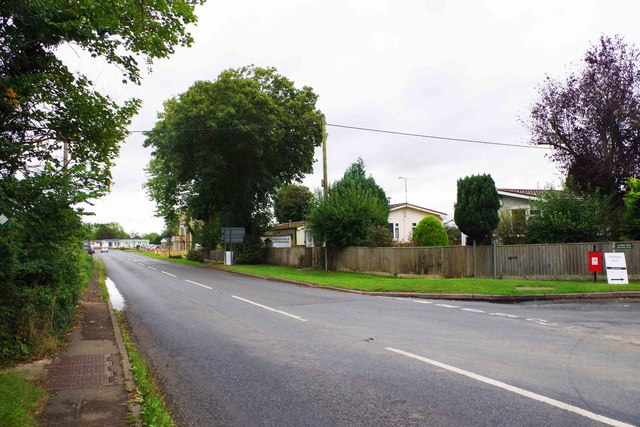 A417 road, Lechlade-on-Thames, Glos