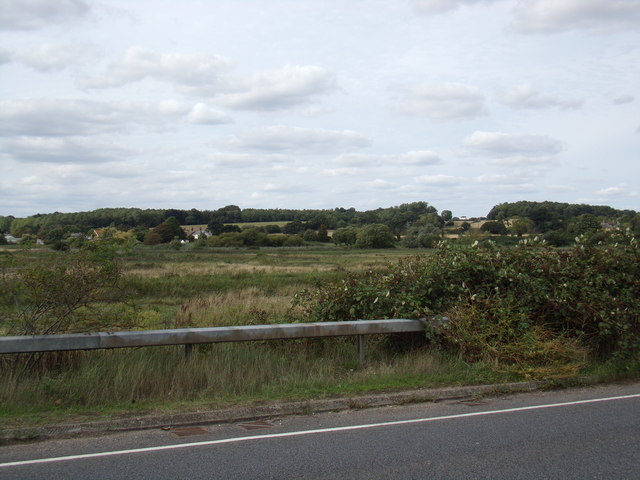 Farmland off the A137 The Causeway