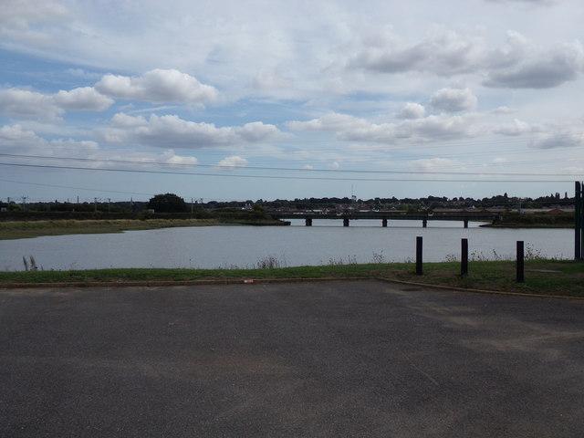 Railway Bridge over The River Stour