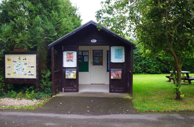 Cotswold Canals Trust information point, St. John's Lock, Lechlade-on-Thames, Glos