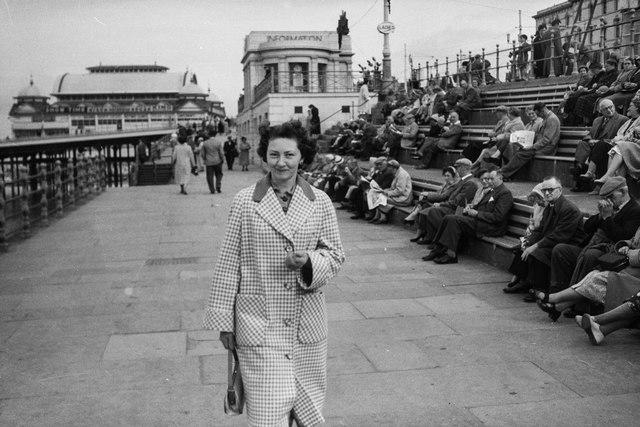 Blackpool Promenade, c.1958